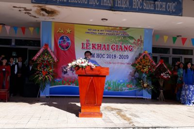 Lễ Khai giảng năm học mới 2018-2019