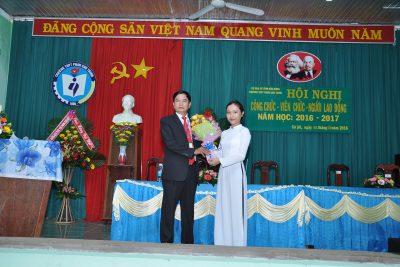 Hình hội nghị CNVC năm học 2016 – 2017