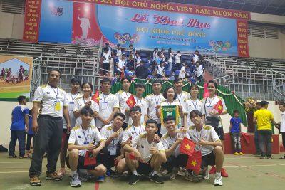 Trường THPT Phan Chu Trinh tham gia hội khỏe phù đổng cấp tỉnh năm học 2021