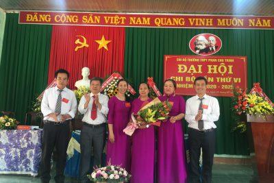 Đại hội Chi bộ trường THPT Phan Chu Trinh lần thứ VI, nhiệm kỳ 2020-2025