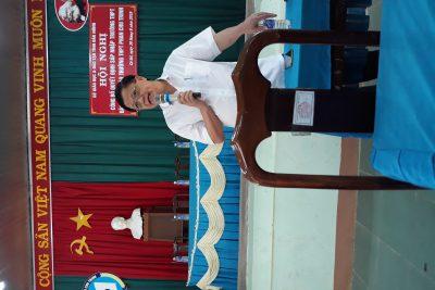 Công bố quyết định sáp nhập trường THPT Đào Duy Từ vào trường THPT Phan Chu Trinh