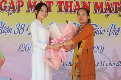 Trường THPT Phan Chu Trinh tổ chức buổi gặp mặt thân mật kỷ niệm 38 năm ngày Nhà giáo Việt Nam 20-11