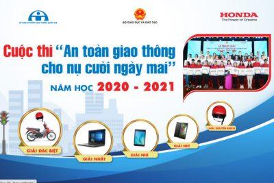 """Công văn triển khai cuộc thi """"An toàn giao thông cho nụ cười ngày mai"""" dành cho giáo viên và học sinh THPT năm học 2020-2021"""